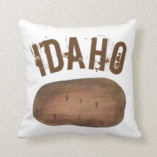 Boise Idaho ID Potato Brown Potatoes Spuds Food Cushion
