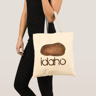 Boise Idaho ID Potato Brown Potatoes Spuds Tote Bag