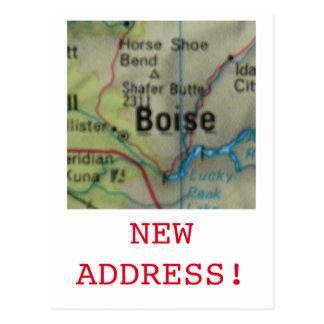 Boise New Address announcement Postcard