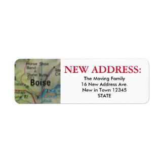 Boise New Address Label