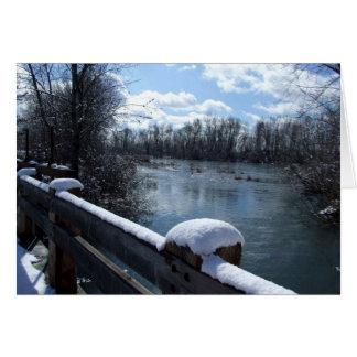 Boise River Bridge Card