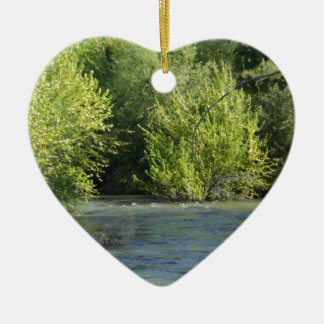 Boise River Christmas Ornament