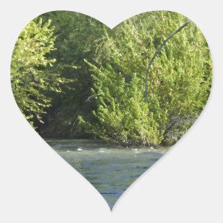 Boise River Heart Sticker