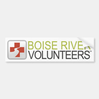 Boise_River_Volunteers_Bumper sticker Bumper Sticker