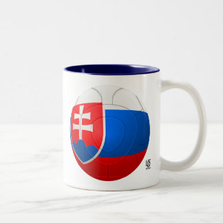 Bojovni Jondovci - Slovakia  Football Two-Tone Coffee Mug
