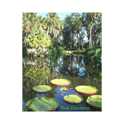 Bok Tower Gardens - Florida Gallery Wrapped Canvas
