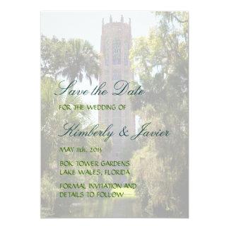 Bok Tower Wedding 13 Cm X 18 Cm Invitation Card