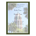Bok Tower Wedding, personalised Custom Announcements