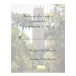 Bok Tower Wedding RSVP Personalised Invite