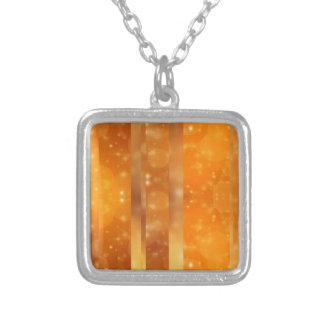 Bokeh 02 golden necklace