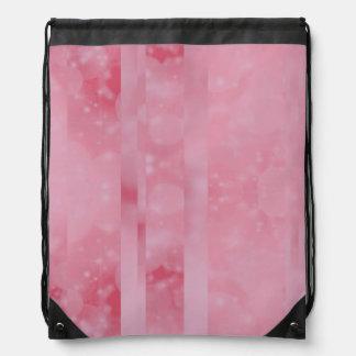 Bokeh 02 soft pink backpack