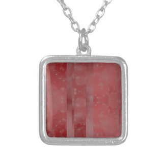 Bokeh 02 soft red necklaces