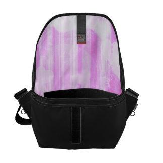 bokeh 04 hearts pink I Messenger Bag