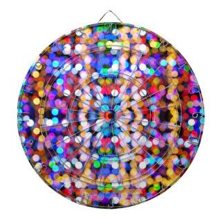 Bokeh Art Dartboard