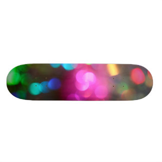 Bokeh Art Custom Skate Board