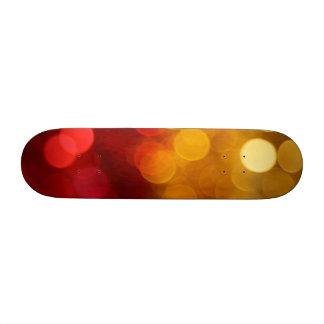 Bokeh Art Skate Deck