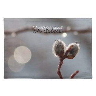 Bokeh Beautiful; Customizable Place Mat