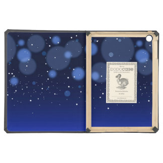 Bokeh Blue Abstract Starry Sky iPad Air Case