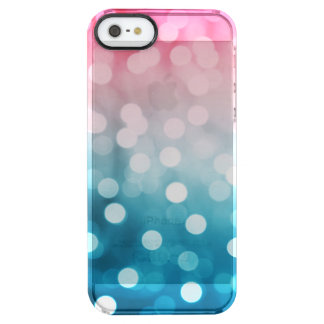 Bokeh Blush Clear iPhone SE/5/5s Case