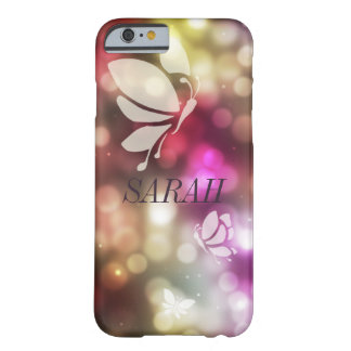 Bokeh Butterfly Barely There iPhone 6 Case