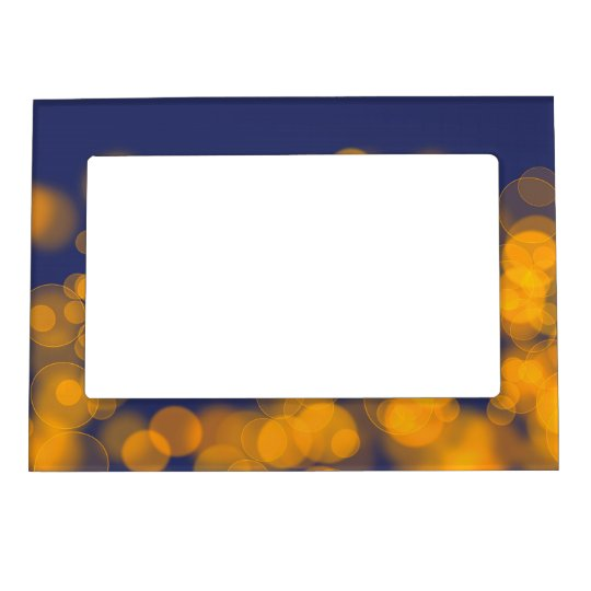 Bokeh effect texture magnetic frames