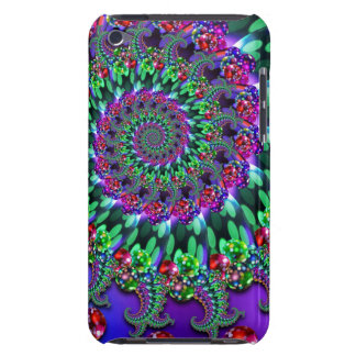 Bokeh Fractal Purple Turquoise Case-Mate iPod Touch Case