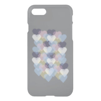 Bokeh Inspired Colorful Hearts iPhone 7 Case
