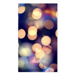 Bokeh Photography Business Cards
