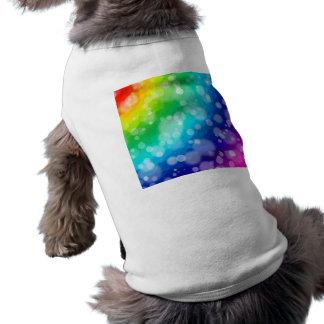 Bokeh Rainbow Pattern Shirt