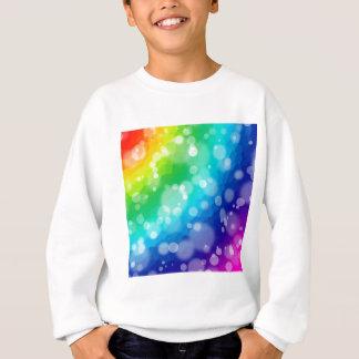 Bokeh Rainbow Pattern Sweatshirt