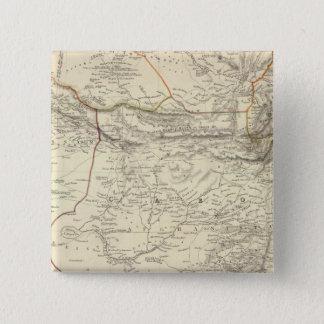 Bokhara, Cabool, Beloochistan &c 15 Cm Square Badge
