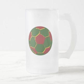 Bola por fãs de portugal coffee mugs