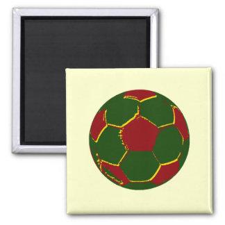Bola por fãs de portugal magnet
