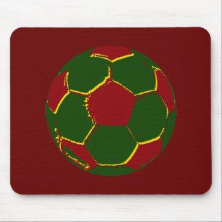 Bola por fãs de portugal mouse pad