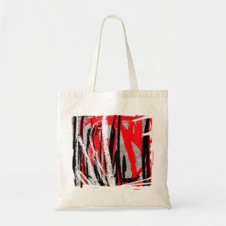 Bold Abstract Budget Tote Bag