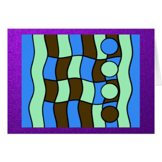 BOLD ABSTRACT GREETING CARDS