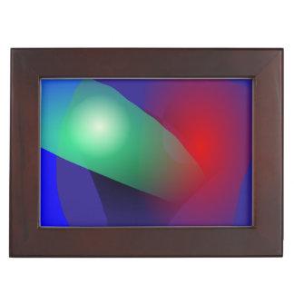 Bold Abstract Keepsake Box