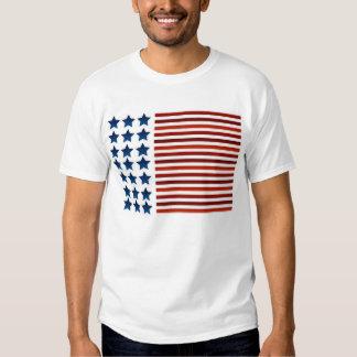 Bold American Flag Shirt