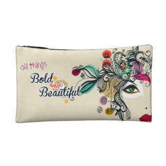 Bold and Beautiful Cosmetic Bags