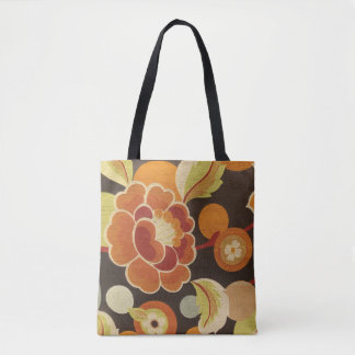 Bold and Beautiful flower Tote Bag