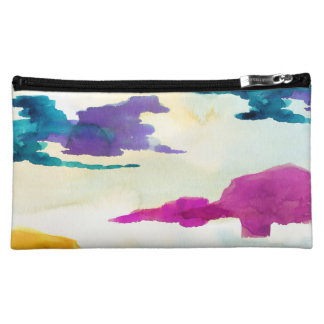 Bold and Colourful Modern Cosmetics Bag