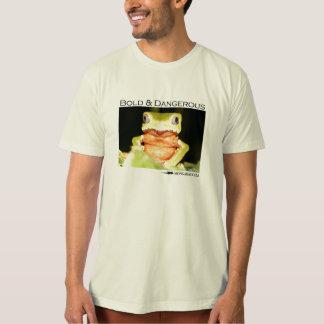 Bold and Dangerous - Monkey frog shirt