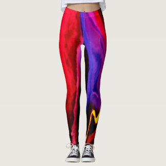Bold and Rich Color Soup Leggings