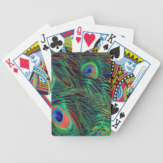 Bold and Rich Peacock Bicycle Playing Cards