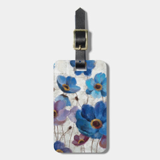 Bold Anemones Luggage Tag