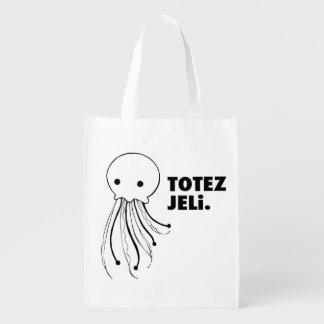 "Bold Anywhere Bag - ""TOTES JELi"" Jellyfish Bag"