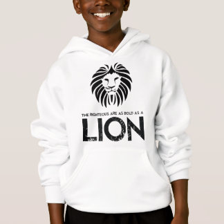 Bold As A Lion Christian Sweatshirt