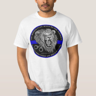 Bold As a Lion Thin Blue Line Shirt