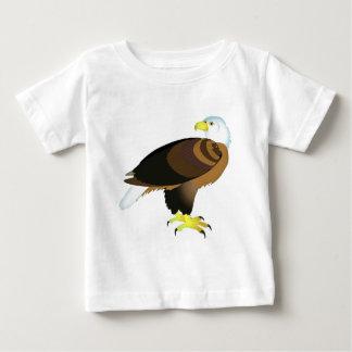 Bold Bald Eagle Baby T-Shirt