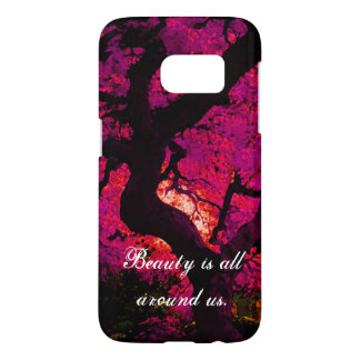 Bold Beauty is all around us statement phone case